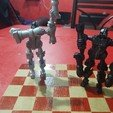 Download free STL file Chessbot Hero Transforming Chess Set • Design to 3D print, osvaldojimenezcarmona