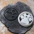 Download 3D printing models Paw Print Cookie Cutter, nicomancer