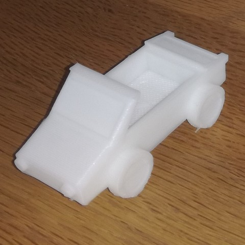 STL files One block car. Car only one print, Neric21