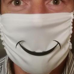 IMG_20200907_232528.jpg Télécharger fichier STL sourire de masque . mask smile • Modèle imprimable en 3D, Neric21