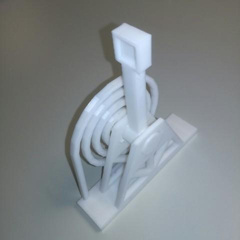 STL Catapulta de un bloque Catapulta en una sola impresión, Neric21