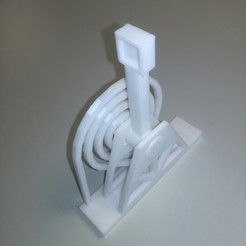 STL files Catapult one block Catapult in a single print, Neric21