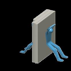 SoporteLibros.png Télécharger fichier STL Porte-livre • Plan pour imprimante 3D, clp356