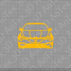 Download STL files Renault Megane GT Keychain, AoTex_3D