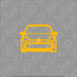 Download 3D printing templates VW UP Keychain, AoTex_3D