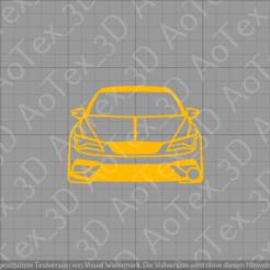 Descargar archivo 3D Llavero Asiento Leon Cupra, AoTex_3D