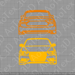 Imprimir en 3D Llavero Audi S5, AoTex_3D