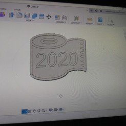 Télécharger plan imprimante 3D 2020 tp roll frigo magnet, hunterrrwlodarczyk