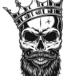 Download 3D printing files skull king lithophane, hunterrrwlodarczyk