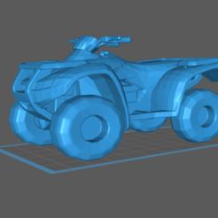 Download free STL file ATV Honda Rancher Rincon Foreman 4 wheeler • 3D printable template, Hogheads3dPrinting