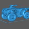 Télécharger fichier STL gratuit VTT Honda Rancher Rincon Foreman 4 roues • Objet imprimable en 3D, Hogheads3dPrinting