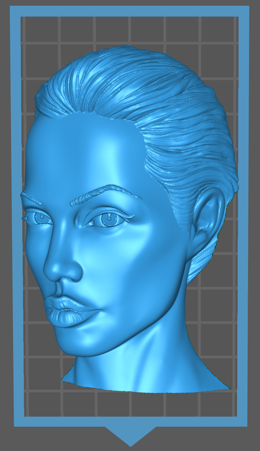 Screen Shot 2020-05-03 at 11.24.48 PM.png Download free STL file Angelina Jolie Tomb Raider Actress • 3D printing template, Hogheads3dPrinting