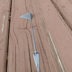 image.png Télécharger fichier STL gratuit Marqueur de pelouse • Plan pour impression 3D, a_str8