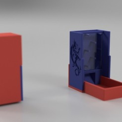 Download free 3D printing files Dice Tower and Case (Plinko Style), a_str8