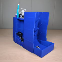 Télécharger objet 3D gratuit Tour de dés et organiseur (style Plinko), a_str8