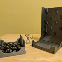 Descargar archivo 3D gratis Torre de Dados Plinko con cierre magnético y bandeja desmontable, a_str8