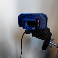 Télécharger fichier imprimante 3D gratuit Pare-soleil pour Logitech C615, a_str8