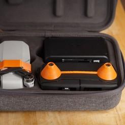 Impresiones 3D gratis Funda para mini joystick Mavic, a_str8