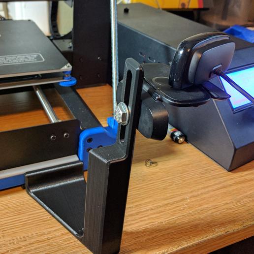 Download free 3D printer designs Duplicator i3 Camera Mount for Z brace, a_str8