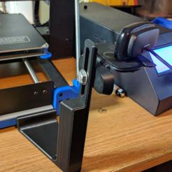 Télécharger fichier impression 3D gratuit Duplicator i3 Support de caméra pour l'attelle Z, a_str8
