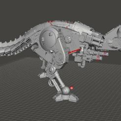 mechanicalrex.PNG Download free STL file UUUUGGEE mechanical rex of mehanical darkness • 3D printer design, jinxed401