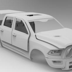 untitled.272.jpg Télécharger fichier STL Carrosserie de voiture RC Dodge RAM Axial, RC4WD • Modèle pour impression 3D, myrc4x4