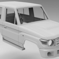 Download 3D printing files Toyota Prado J71 3Doors, myrc4x4