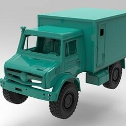 untitled.360.jpg Download STL file Unimog 313, 324 mm wheelbase Traxxas TRX4 • 3D printable object, myrc4x4