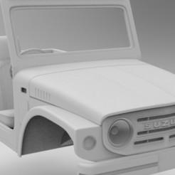 Download 3D printing models Suzuki Jimny (Samurai) 1970 313mm wheelbase Axial, RC4WD, myrc4x4