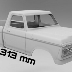 untitled.395 1.jpg Télécharger fichier STL RC Scale body Ford F-150 313mm empattement • Design pour impression 3D, myrc4x4