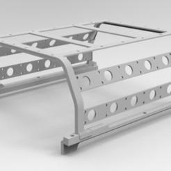 lc 70 cage.97.jpg Télécharger fichier STL Cage pour Toyota LC70 • Objet pour impression 3D, myrc4x4