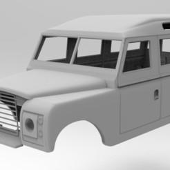 untitled.332.jpg Télécharger fichier STL Land Rover ancien modèle 3d à empattement de 334 mm • Modèle imprimable en 3D, myrc4x4