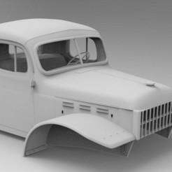 s-l1600.jpg Download STL file Dodge Power Wagon RC car hard body 3d model • 3D printer object, myrc4x4