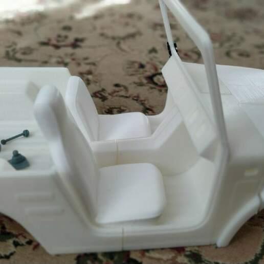 Télécharger fichier STL Suzuki Jimny (Samurai) 1970 313mm empattement Axial, RC4WD • Plan imprimable en 3D, myrc4x4