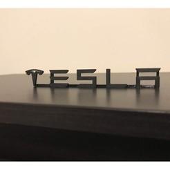 tesla2.jpg Download STL file Tesla sign • 3D print template, loller01