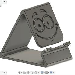 Descargar Modelos 3D para imprimir gratis soporte de teléfono y estuche de pincel, AlexGud