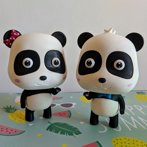 Download 3D printing files BabyBus (Kiki and MiuMiu), bordermultimedia