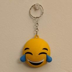 IMG_20200907_230102-01.jpg Download STL file Tears of joy emoki keychain • 3D printing design, bordermultimedia