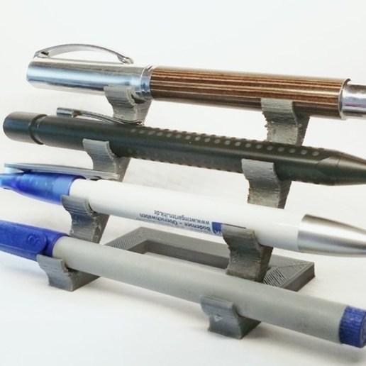 Download free STL file Professional pencil holder • 3D printer design, Abayarde