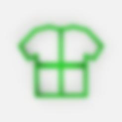 Télécharger fichier STL gratuit Coupe-champignons de football - coupe-biscuits pour chemise - fondant • Modèle à imprimer en 3D, Abayarde