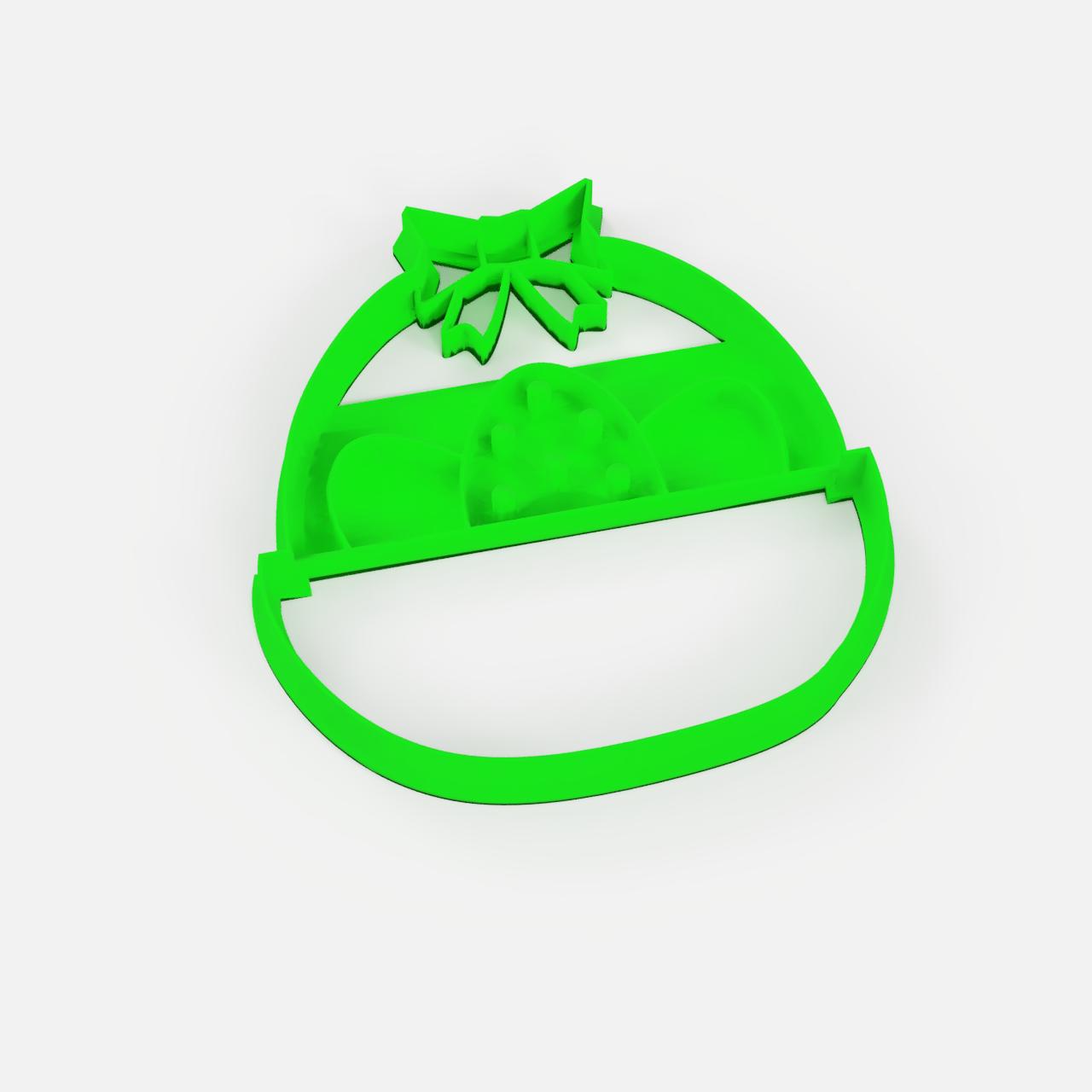Pascua 3.png Télécharger fichier STL gratuit easter set x5 cookie cutter pack - ensemble de coupe-papiers de Pâques x5 • Design pour impression 3D, Abayarde