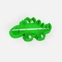 Download free STL file Dino Cookie Cutter - cute cookie cutter dinosaur • 3D print object, Abayarde