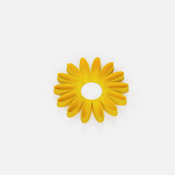 Download free STL file Daisy cutter - cookie cutter Daisy flower • Model to 3D print, Abayarde