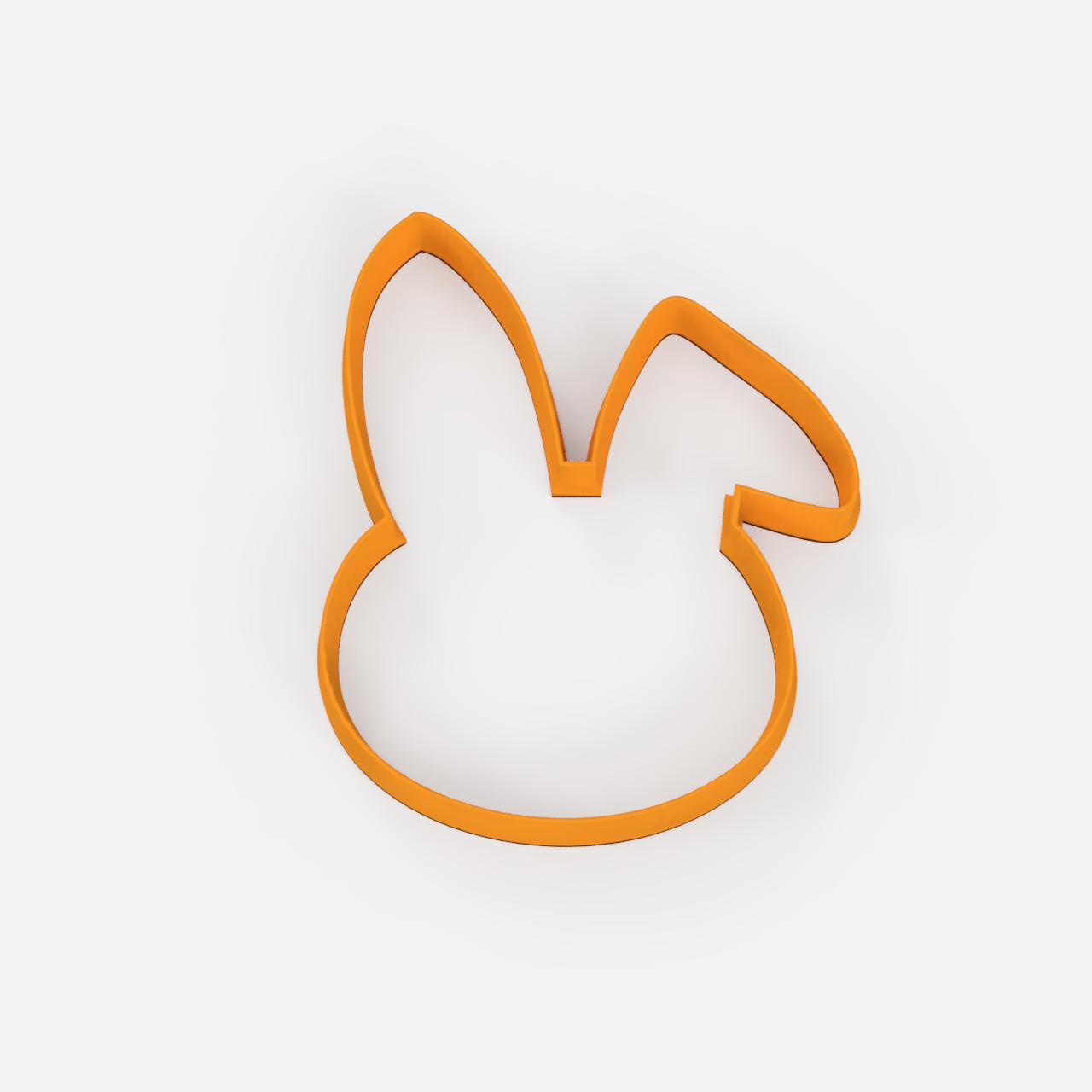 Pascua 2.png Télécharger fichier STL gratuit easter set x5 cookie cutter pack - ensemble de coupe-papiers de Pâques x5 • Design pour impression 3D, Abayarde
