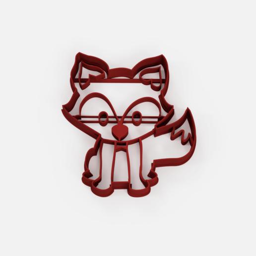 zorro 3d.png Télécharger fichier STL gratuit L'emporte-pièce du renard des forêts • Design pour impression 3D, Abayarde