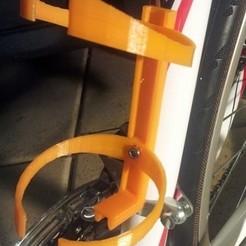 Télécharger fichier STL gratuit Porte-bidon pour bicyclette - Modèle 3D du porte-bidon pour bicyclette • Plan à imprimer en 3D, Abayarde