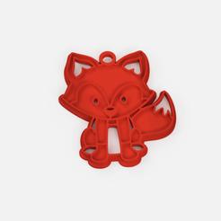 Download free STL file keychain fox forest • 3D print model, Abayarde