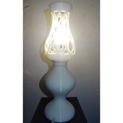 Impresiones 3D Lámpara de diseño Petrôle, Eddy89