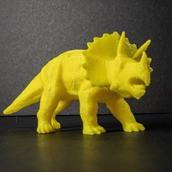pic1.JPG Download STL file Triceratops • 3D printable design, DaveRigDesign