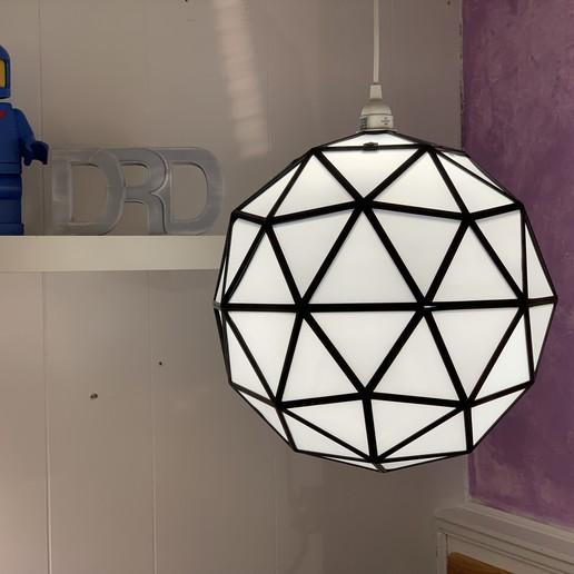 Descargar diseños 3D Lámpara GeoSphere, DaveRigDesign